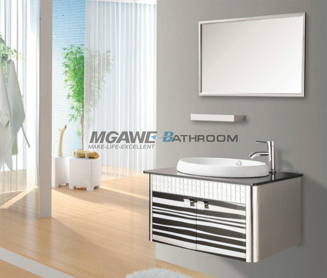 Stainless Steel Bathroom Vanities Ss 4005