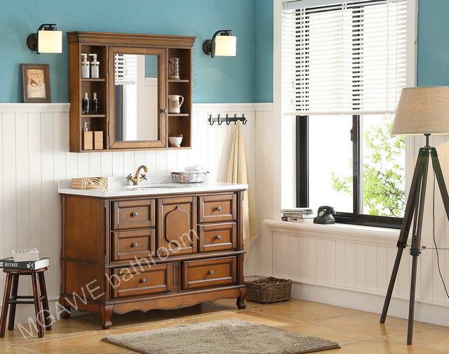 40inch bathroom vanity cabinet with marble top