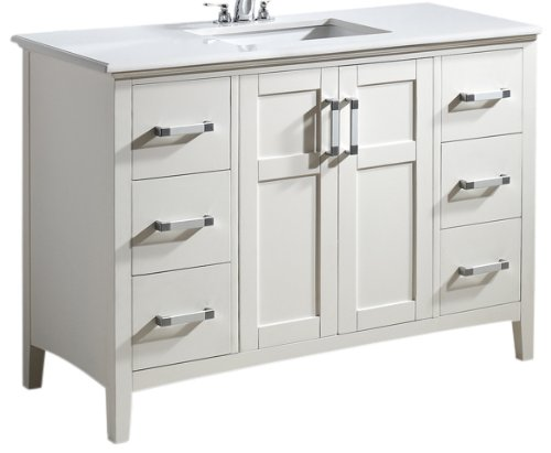 23 Taylor Contemporary Solid Wood Framed Bathroom Mirror: Wood Bathroom Vanity,solid Wood Bathroom Vanity,solid Wood