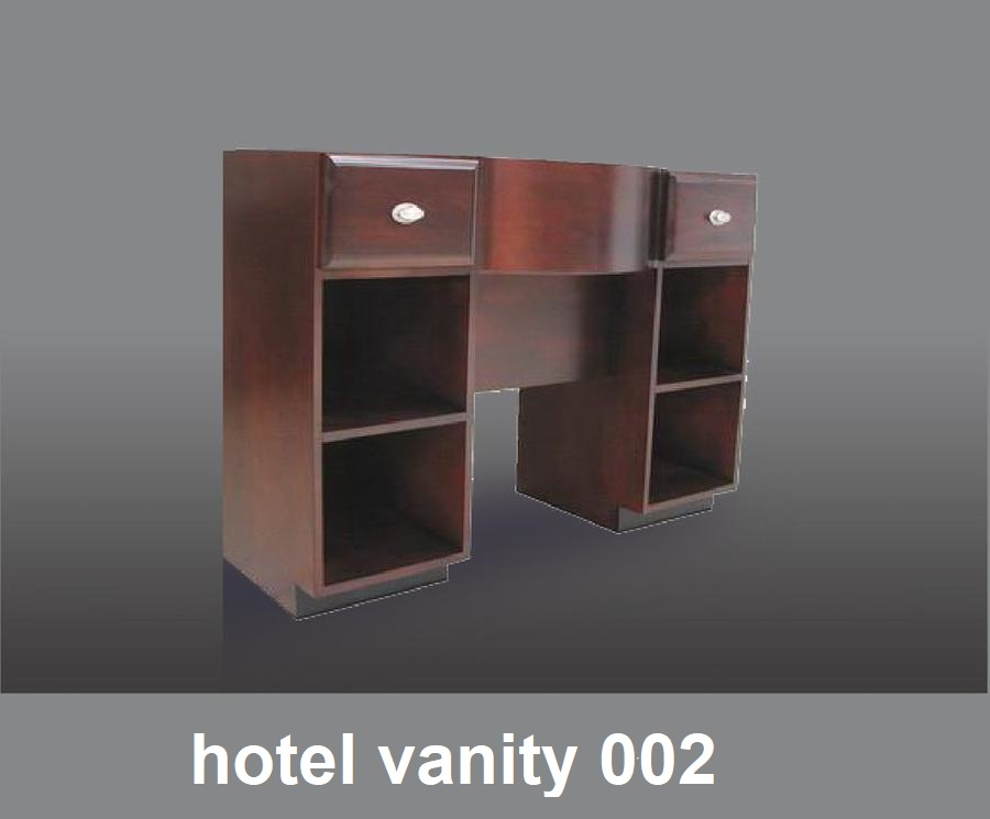 Hotel Style Bathroom Vanity Unit With Drawers And Storage